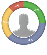 Example of inspector profile data visualisation